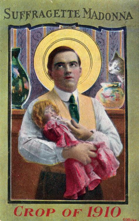 suffragette madonna 1910
