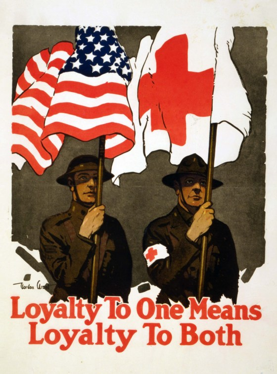 WWI US red cross