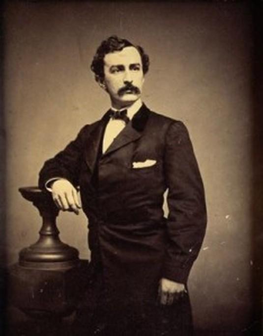John Wilkes Booth, the man who shot AbrahamLincoln