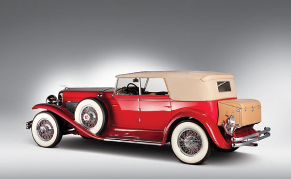 1930 Duesenberg Model J Convertible Sedan