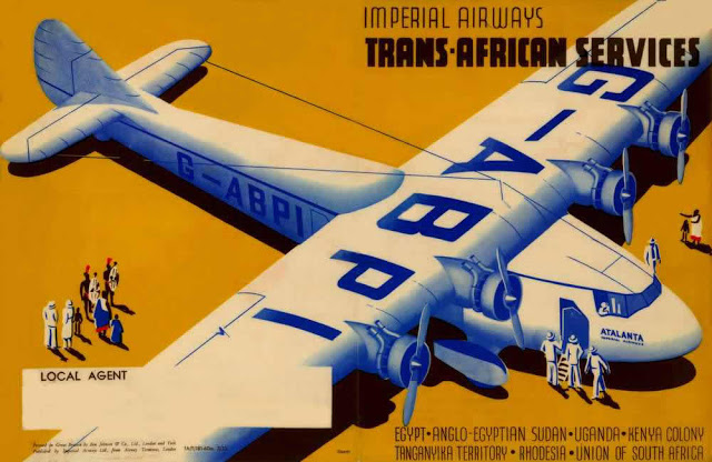 Imperial Airways, Africa Service, 1930s