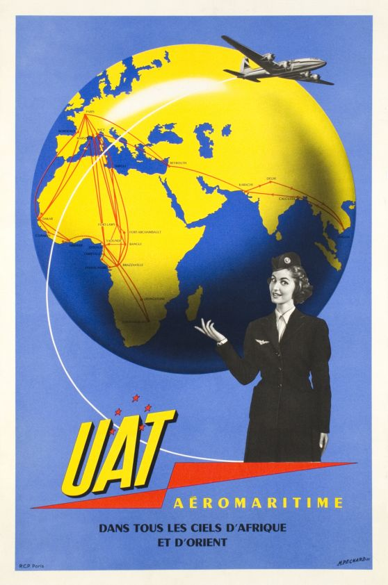 UAT Aeromaritime, 1950s