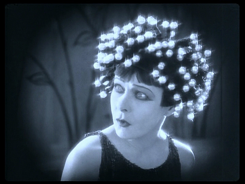 "Alla Nazimova wearing the wig in ""Salome"" 1923"