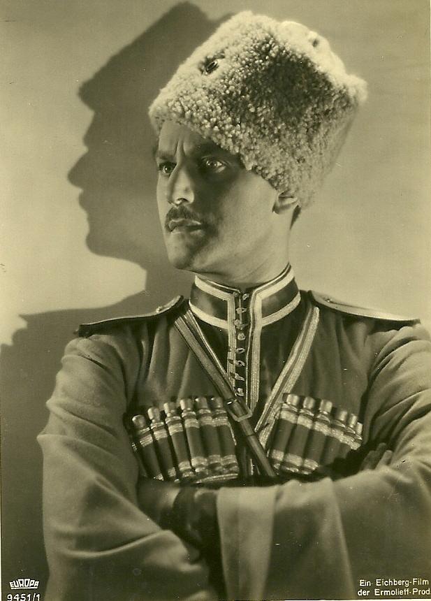 Anton Wohlbrook in Der Kurier des Zaren,1935