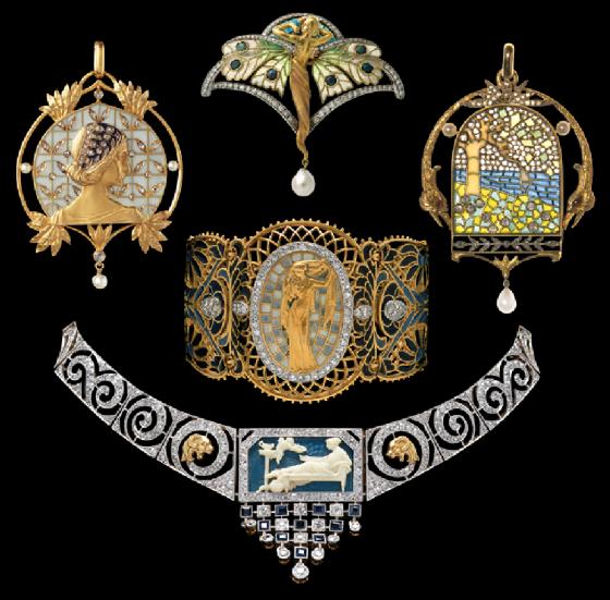 art nouveau jewelry 280