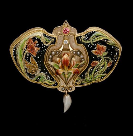 art nouveau jewelry 444