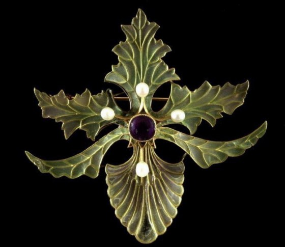 art nouveau jewelry 9501
