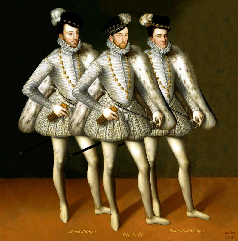 Le Roi de France, Charles XI, et sonfreres