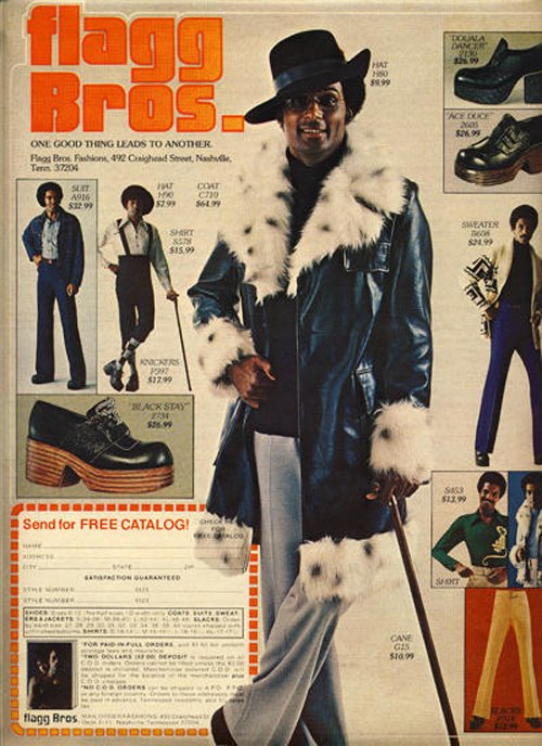 Flagg Bros., 1970s Men's Fashions