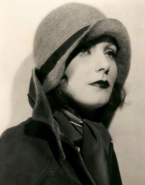 Young Greta Garbo