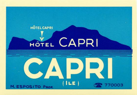 italy capri hotel