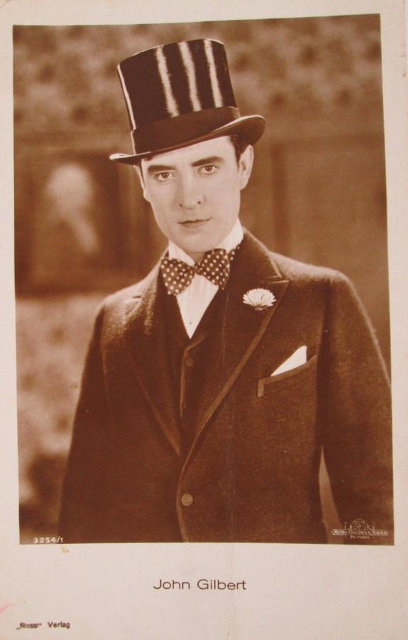 John Gilbert wearing atophat