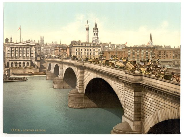 London bridge, 1800s