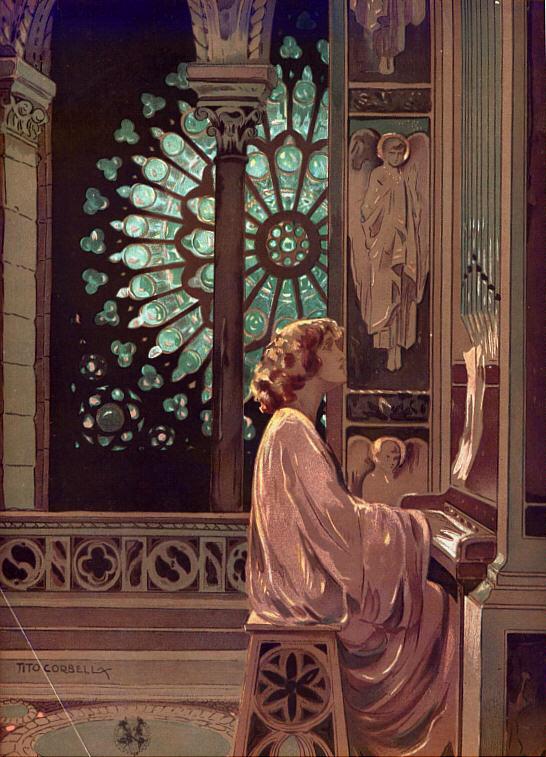 """Lyda Borelli in """"Marcia Nuziale"""" by Tito Corbella,1915"""