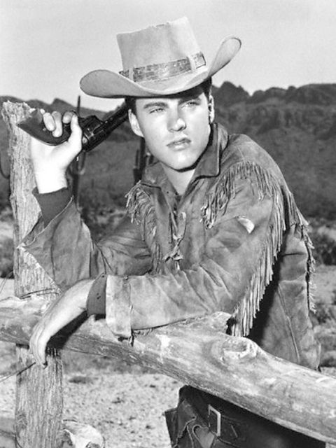 "Ricky Nelson in a promo shot for ""Rio Bravo"""