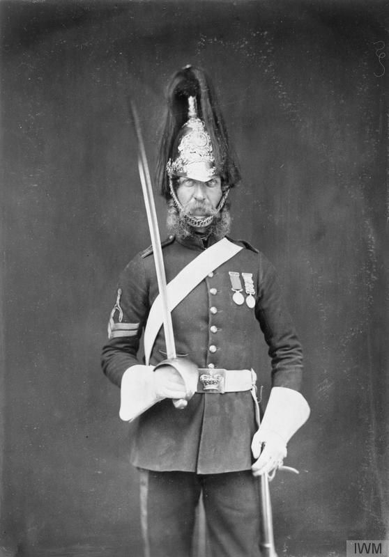 One of Queen Victoria's Rough Riders