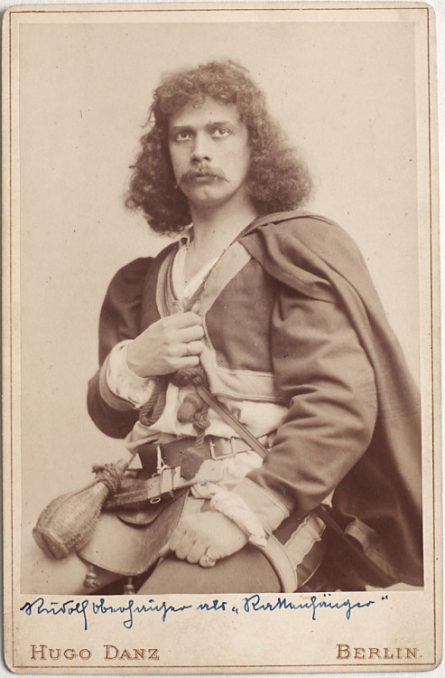 Actor, Germany, 1800s