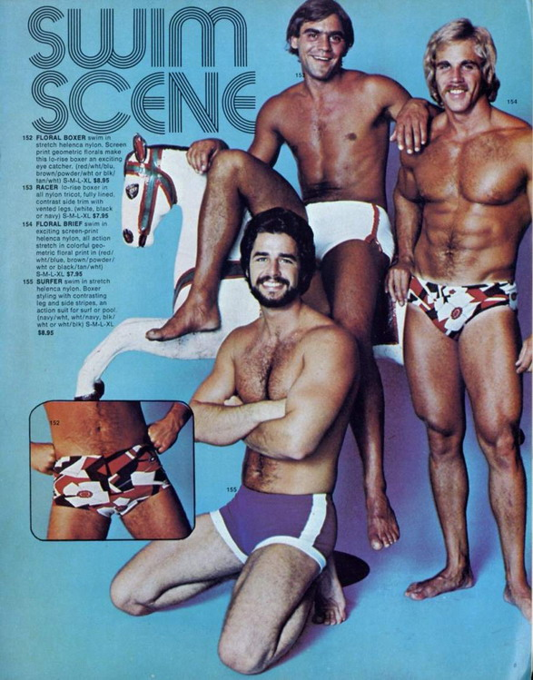 Swim Scene, circa early 1980s