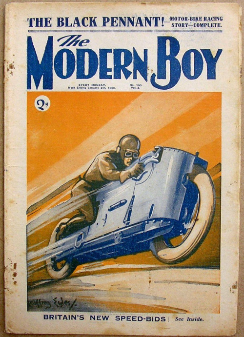The Modern Boy, 1930, UK