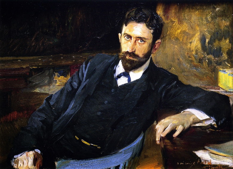 """The Writer Francisco Acebal"" by Joaquin Sorolla, 1908"