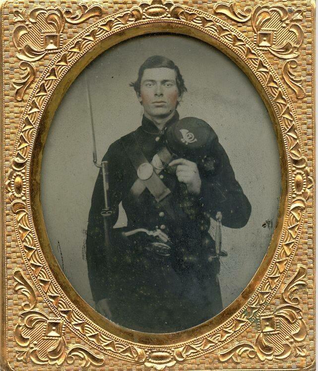 Handsome US Civil WarSoldier