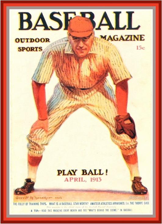Baseball Magazine, 1913