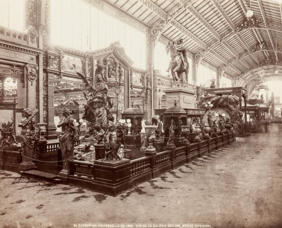 Galerie des Industries Diverses, Pariisin maailmannäyttely 1889