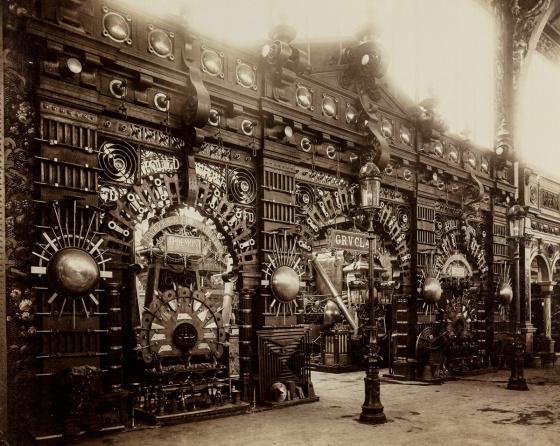 Metallikoristeinen paviljonki, Pariisin maailmannäyttely 1889