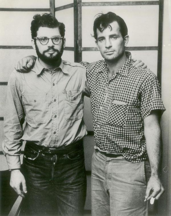 Allen Ginsburg and JackKerouac