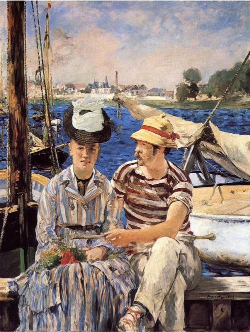 Édouard Manet –Argenteuil