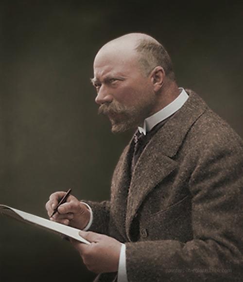 Swedish painter CarlLarsson