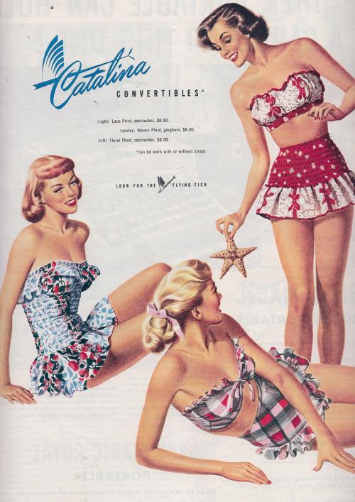 Catalina swimsuits. circa1950