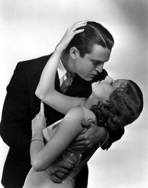 """Chester Morris and Jean Harlow – Publicity photo for """"Red Headed Woman"""",1932"""