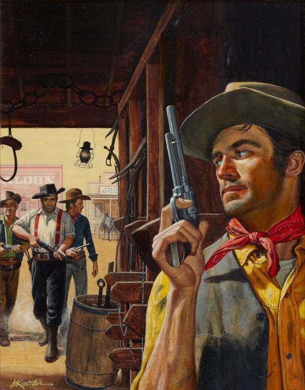 Cowboy Pulp FictionIllustration