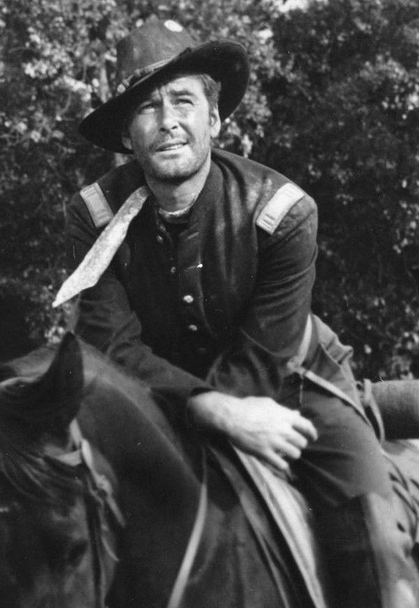 """Errol Flynn in """"Silver River"""",1948"""