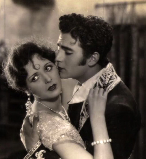 "Mary Astor and Gilbert Roland in ""Rose of the Golden West"", 1927"