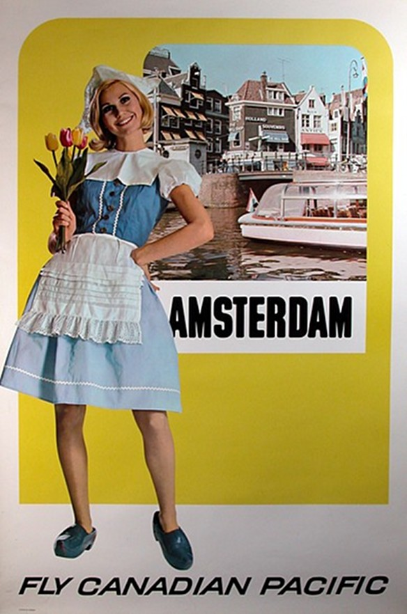 Amsterdam by Canadian Pacific,1960s