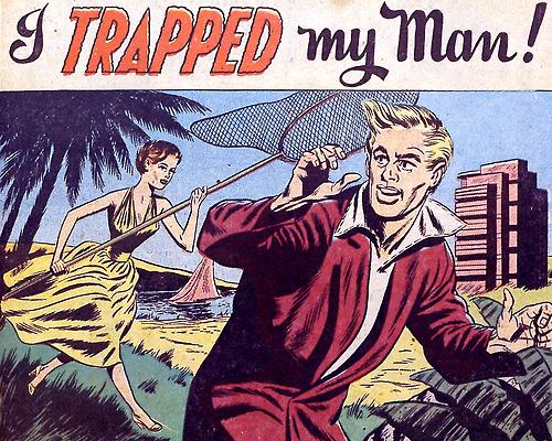i trapped my man