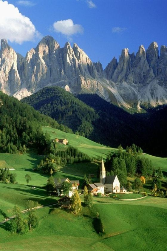 Italy The Dolomites
