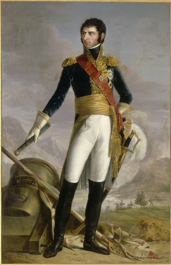 """Jean Baptiste Bernadotte, King of Sweden and Norway""  by Joseph Nicolas Jouy (after François Joseph Kinson), 1818"