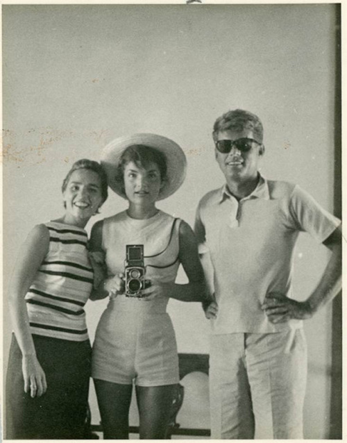 JFK, Jackie, and Ethel Kennedy (1950s)