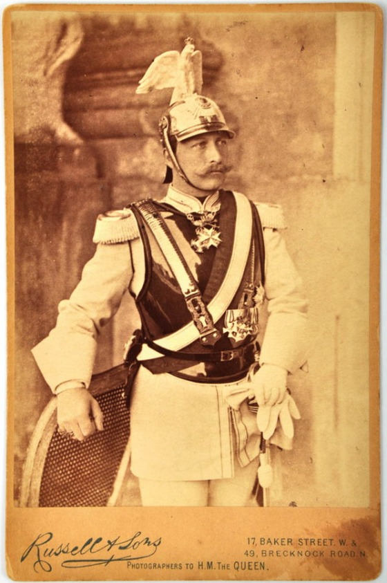 Kronprinz Wilhelm of Prussia (later Kaiser Wilhelm II)