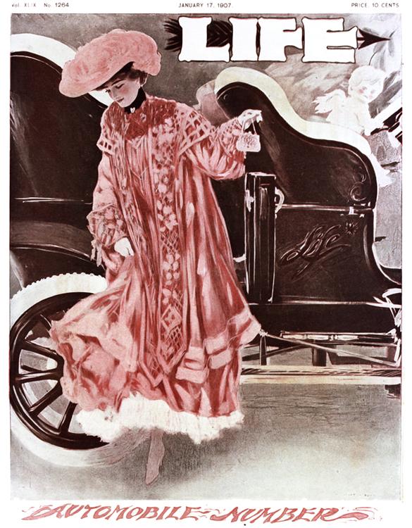 "Life magazine's ""Automobile Number"",1907"
