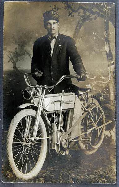 Very vintage motorbike