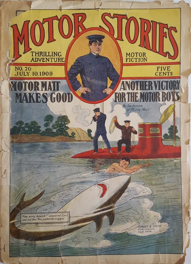 Motor Matt Makes Good, 1909
