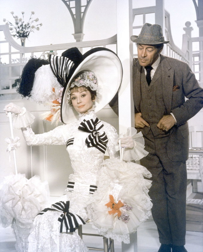 "Audrey Hepburn and Rex Harrison in ""My Fair Lady"", 1964"