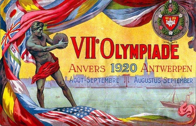 1920 Olympics, Belguim