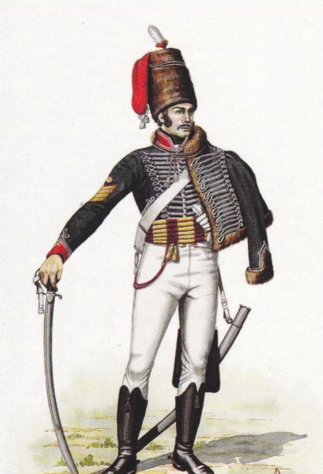 Troop Sergeant Major 15th The King's Light Dragoons Hussars, UK, 1808