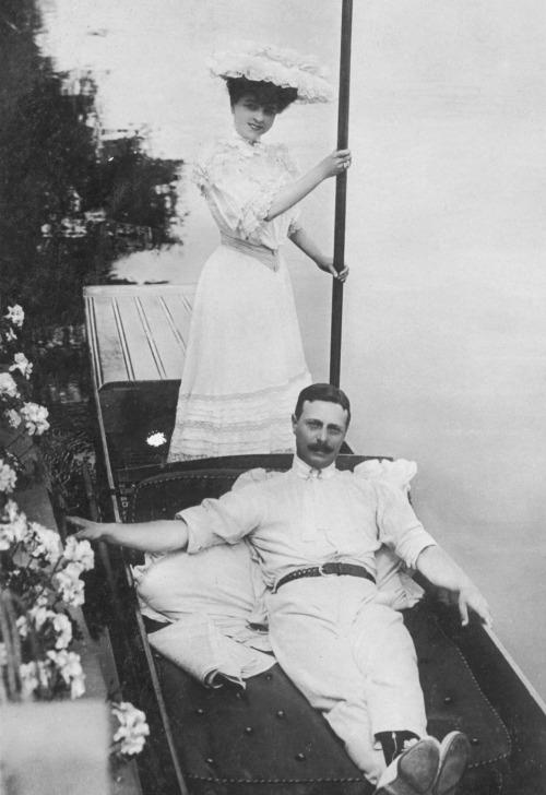 Vesta Tilley and Walter de Frece
