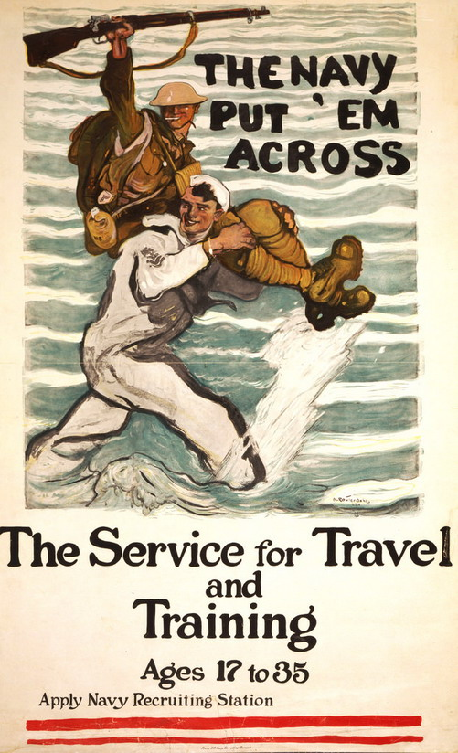US Navy WWI Poster